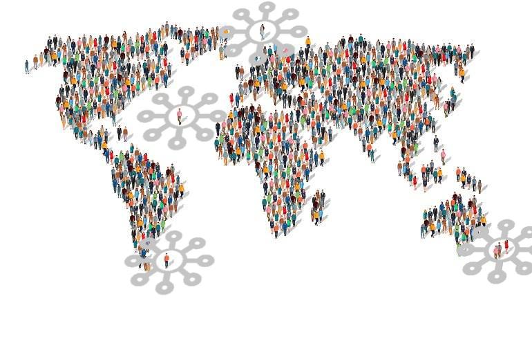 Γεωχωρικά κοινωνικά δίκτυα